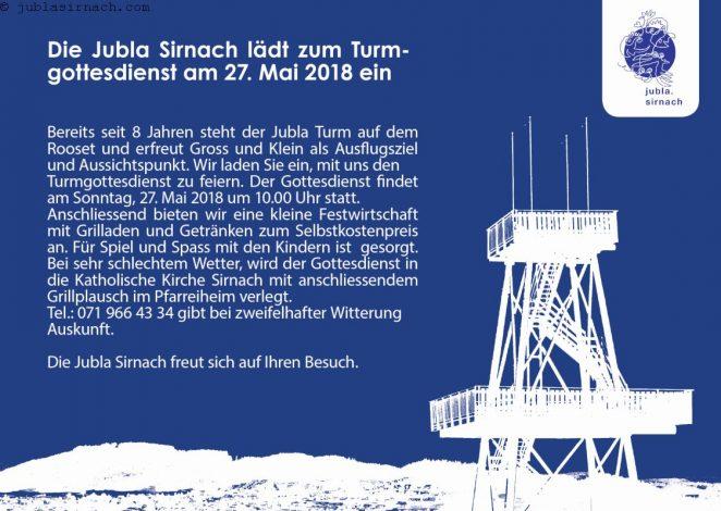 jubla_turmgottesdienst Plakat.indd